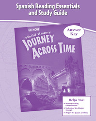 Journey Across Time, Spanish Reading Essentials and Study Guide, Answer Key