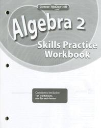 Algebra 2, Skills Practice Workbook