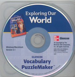 Exploring Our World, Vocabulary Puzzlemaker