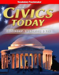 Civics Today: Citizenship, Economics, & You, Vocabulary Puzzlemaker