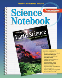 Glencoe Earth Science: Geology, the Environment, and the Universe, Science Notebook Teacher Annotated Edition