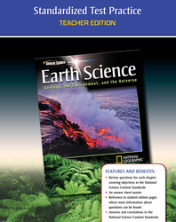 Glencoe Earth Science: Geology, the Environment, and the Universe, Earth Science Test Prep, Teacher Edition