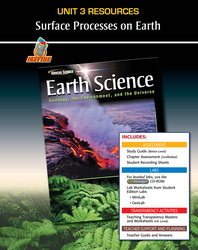 Glencoe Earth Science: Geology, the Environment, and the Universe, Unit 3 Fast Files