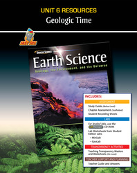 Glencoe Earth Science: Geology, the Environment, and the Universe, Unit 6 Fast Files