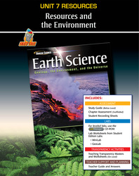 Glencoe Earth Science: Geology, the Environment, and the Universe, Unit 7 Fast Files