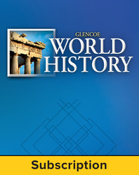 Glencoe World History, Online Student Edition, 1-Year Subscription