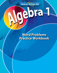 Algebra 1, Word Problems Practice Workbook