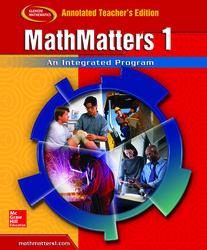 MathMatters 1: An Integrated Approach, Annotated Teacher's Edition