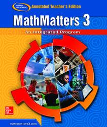 MathMatters 3: An Integrated Approach, Annotated Teacher's Edition'