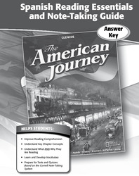 The American Journey, Spanish Reading Essentials and Note-Taking Guide Answer Key