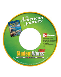 The American Journey, StudentWorks Plus Online, 1-Year Subscription