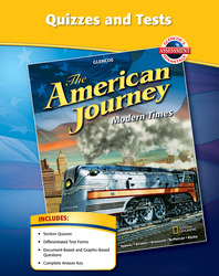 The American Journey, Modern Times, Quizzes and Tests