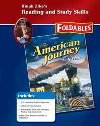 The American Journey, Early Years, Reading and Study Skills Foldables