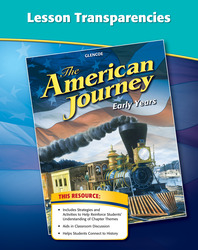 The American Journey, Early Years, Lesson Transparencies