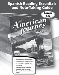 The American Journey, Early Years, Spanish Reading Essentials and Note-Taking Guide Workbook Answer Key