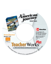The American Journey, Early Years, TeacherWorks CD-ROM