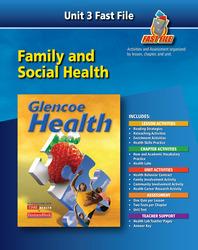 Glencoe Health, Fast File Unit Resources Unit 3