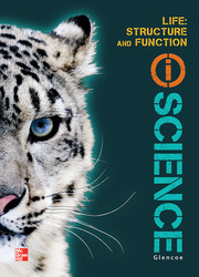 Glencoe Life iScience Module F: Structure and Function, Grade 7, Student Edition