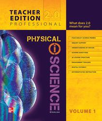 Glencoe Physical iScience, Grade 8, Teacher Edition, Volume 1