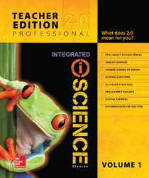 Glencoe Integrated iScience, Course 1, Grade 6, Teacher Edition, Volume 1