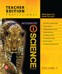 Integrated iScience, Course 2, Teacher Edition, Volume 1