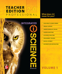 Glencoe Integrated iScience, Course 3, Grade 8, Teacher Edition, Volume 1