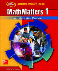 MathMatters 1: An Integrated Program, TeacherWorks DVD
