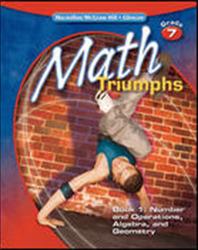 Math Triumphs, Grade 7, StudentWorks Plus DVD