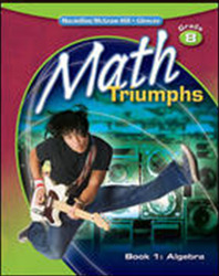 Math Triumphs, Grade 8, StudentWorks Plus DVD