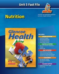Glencoe Health, Fast File Unit Resources Unit 5