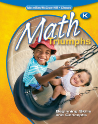 Math Triumphs, Kindergarten: Beginning Skills and Concepts, Student Study Guide