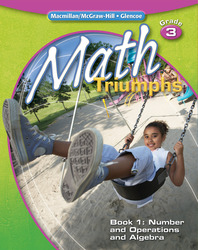 Math Triumphs, Grade 3, Student Study Guide, Book 1: Number and Operations and Algebra