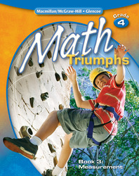 Math Triumphs, Grade 4, Student Study Guide, Book 3: Measurement