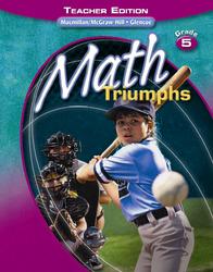 Math Triumphs, Grade 5, Teacher Edition