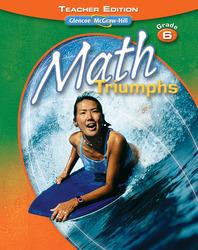 Math Triumphs, Grade 6, Teacher Edition