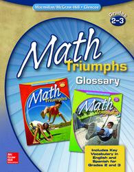 Math Triumphs, Grades 2-3, Glossary