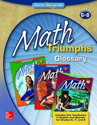 Math Triumphs, Grades 6-8, Glossary