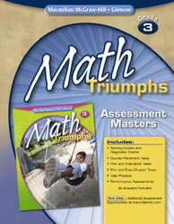 Math Triumphs, Grade 3, Assessment Masters