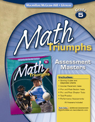 Math Triumphs, Grade 5, Assessment Masters