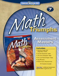 Math Triumphs, Grade 7, Assessment Masters