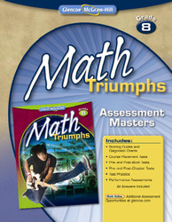Math Triumphs, Grade 8, Assessment Masters