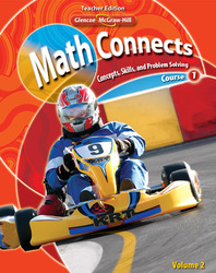 Math Connects: Concepts, Skills, and Problem Solving, Course 1, Teacher Wraparound Edition, Volume 2