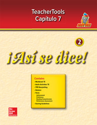 ¡Así se dice! Level 2, TeacherTools Chapter 7