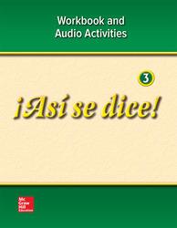¡Así se dice! Level 3, Workbook and Audio Activities
