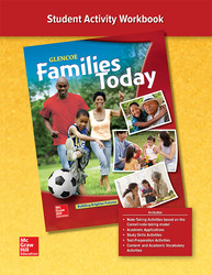 Families Today, Student Activity Workbook