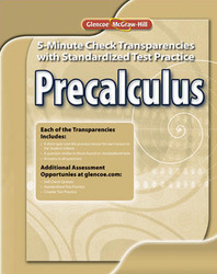 Precalculus 5-Minute Check Transparencies