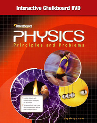 Glencoe Physics: Principles & Problems, Interactive Chalkboard DVD