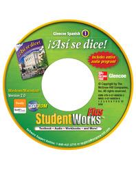 ¡Así se dice! Level 1, StudentWorks Plus CD-ROM