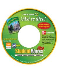 ¡Así se dice! Level 3, StudentWorks Plus CD-ROM