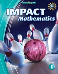 IMPACT Mathematics, Course 1, Student Edition